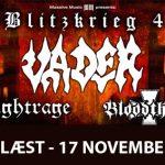Vader + Nightrage + Bloodthorn  – Blitzkrieg 4 Tour, Klubben 19/11 2006
