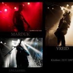 Marduk, Unleashed & Vreid – Klubben 23/11 2007