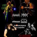 Valkyrja + SpearHead + Vörgus + Impiety  –  Tanto 24/9 2008