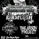 Birdflesh +  The Arson Project +  Slavebreed – Broder Tuck 11/12 2009