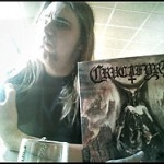Presents for me!! CRUCIFYRE CD + LP!!
