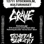 GENERAL SURGERY – Club Distortion, Studion 12/11 2011