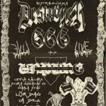 DESTROYER 666 – Püssy A Go Go – The Liffey 1/12 2012