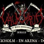 VALKYRJA  10 years anniversary – 6/12 2014 En Arena