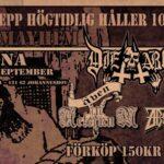 ANGREPP – 10 Year Anniversary  En Arena 19/9 2015