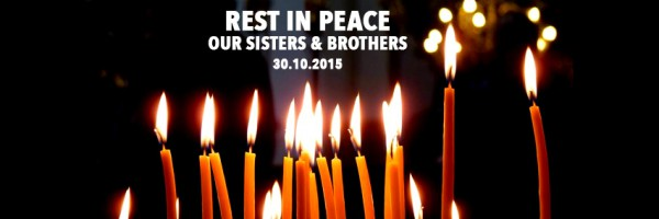 For our brothers and sisters in Romania #Colectiv