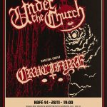 "UNDER THE CHURCH  ""Rabid Armageddon"" Releaseparty – Kafé 44 28/11 2015"