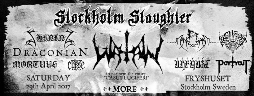 Stockholm Slaughter: The Awakening - the past is alive @  Fryshuset Klubben/ Arenan | Stockholms län | Sweden