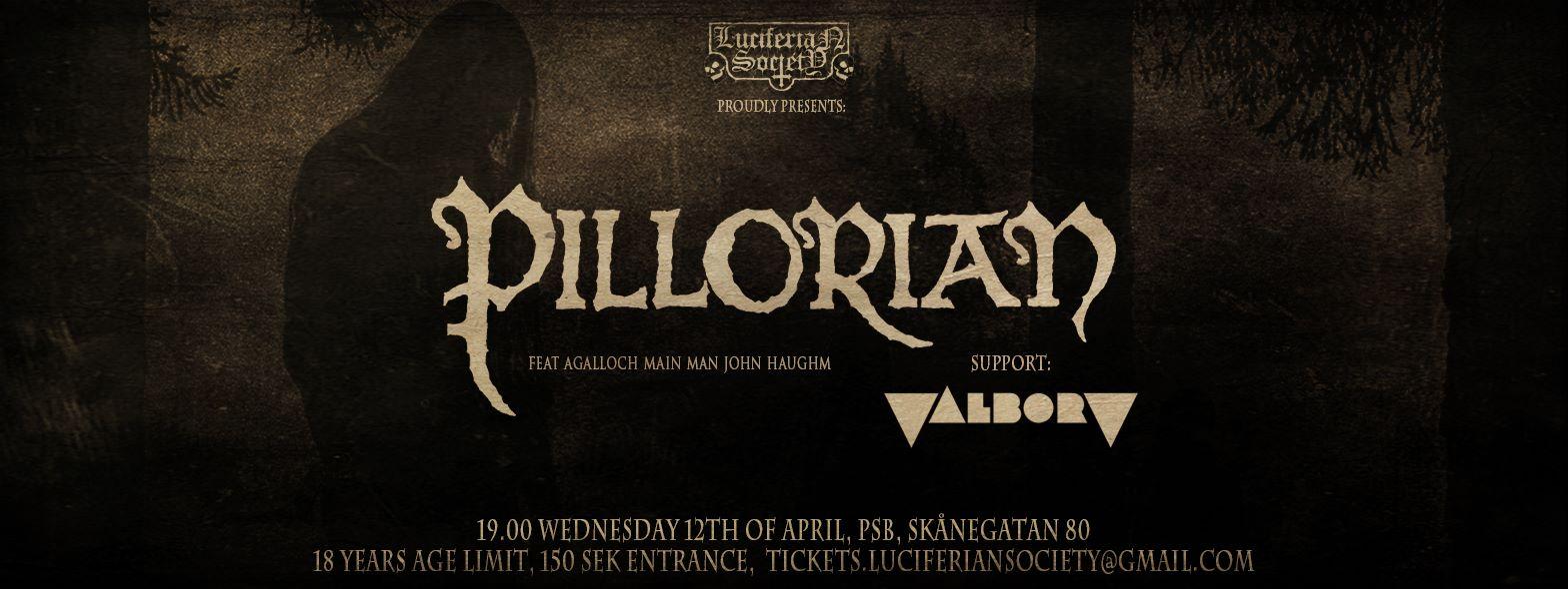 Pillorian (feat John Haughm of Agalloch) & Valborg @ PSB | Stockholms län | Sweden