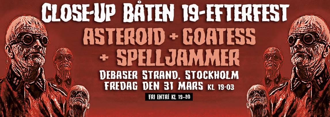 Close-Up Båten 19-efterfest @ Debaser | Stockholms län | Sweden
