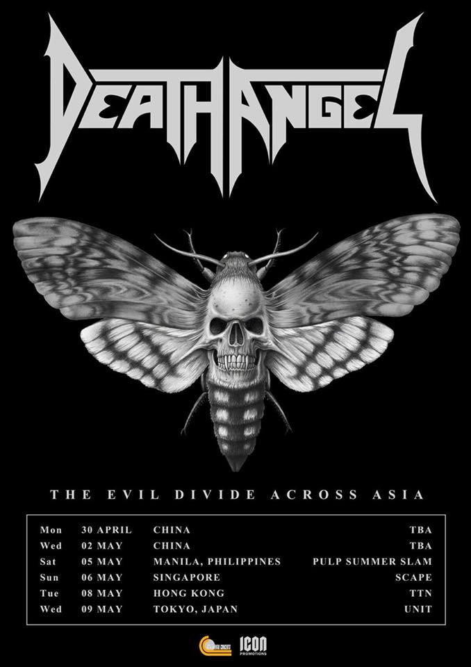 Death Angel @ Beijing | Beijing | China
