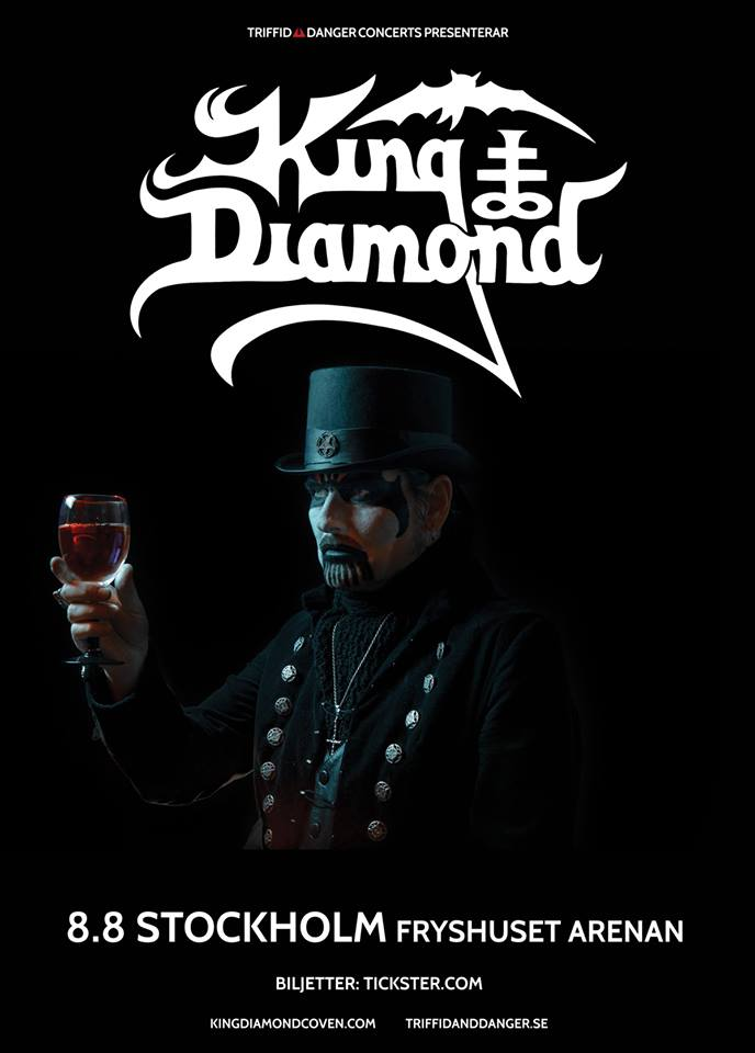 King Diamond | Stockholm @ Fryshuset Arenan