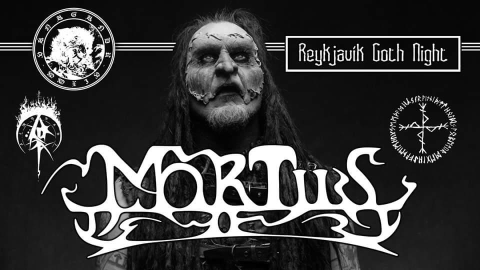 RGN: Mortiis, Almyrkvi & NYIÞ @ Gaukurinn