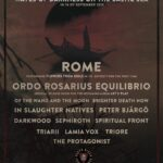 ORDO ROSARIUS EQUILIBRIO – Waves of Darkness on The Baltic Sea  14-16/9 2019