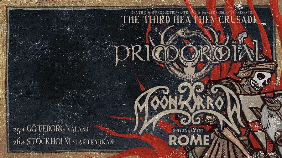 Primordial, Moonsorrow, Rome @ Slaktkyrkan
