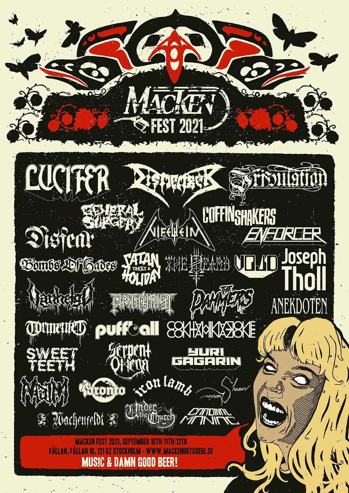 Macken Fest 2021 @ Slaktkyrkan
