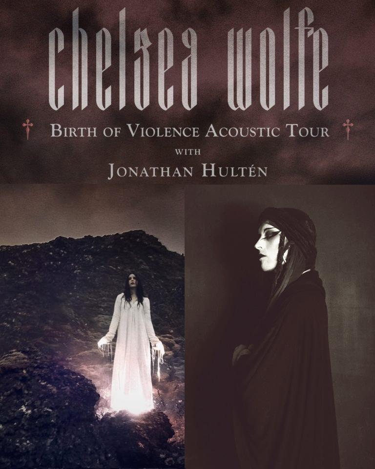 CANCELLED! // Chelsea Wolfe | Jonathan Hultén @ Nalen
