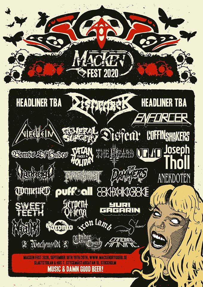 Macken Fest 2020 @ Slaktkyrkan