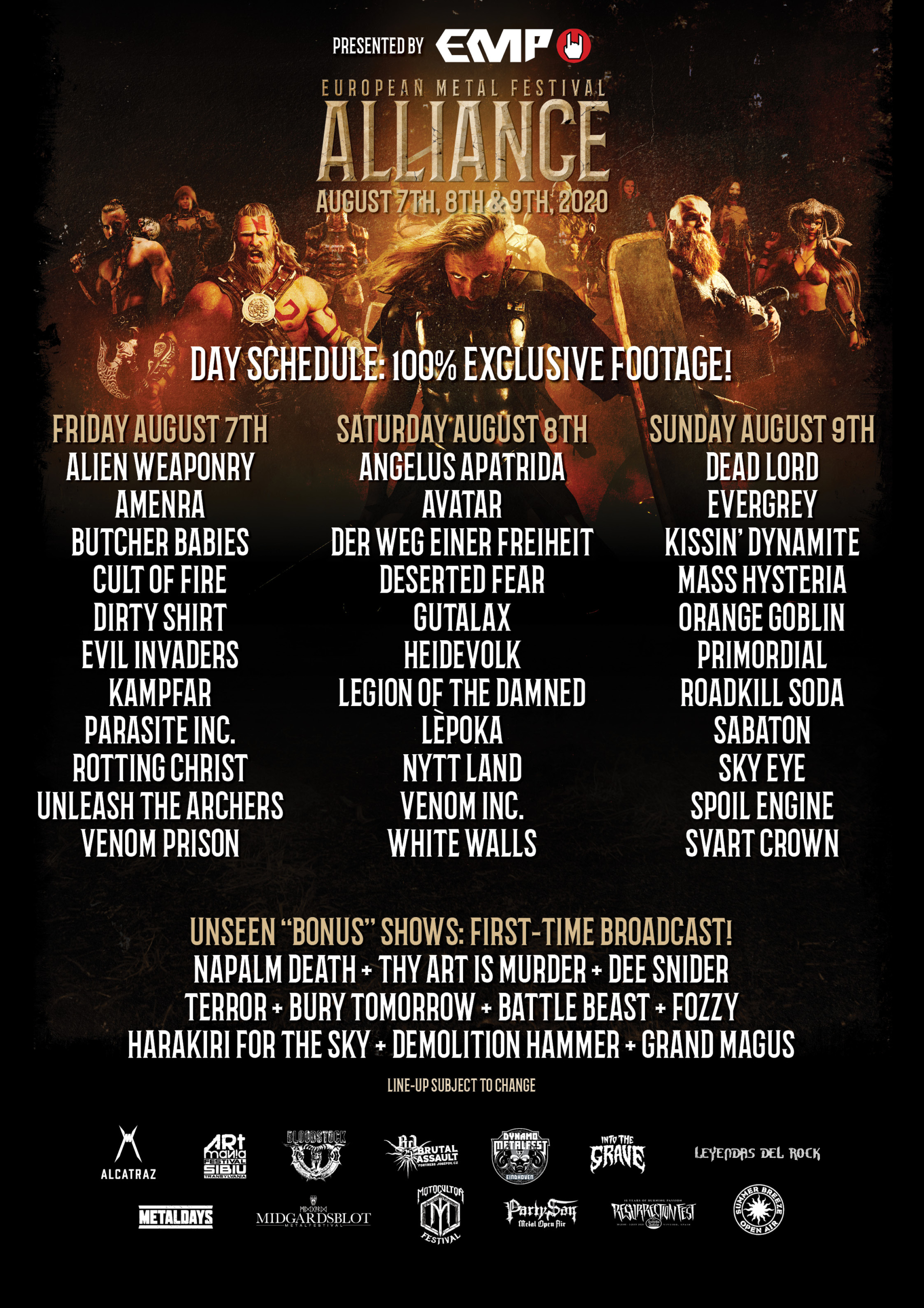 European Metal Festival Alliance 2020